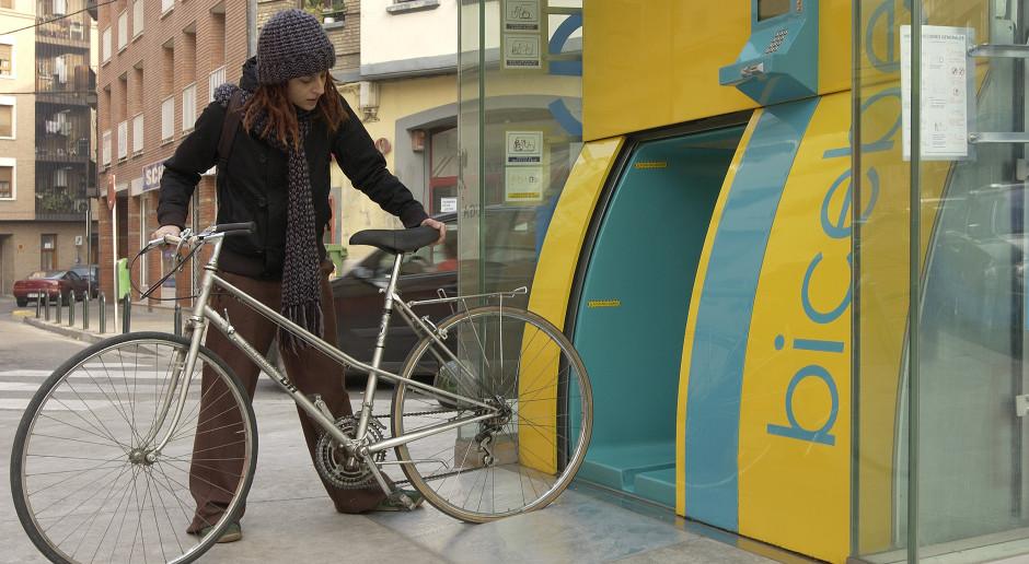 Pierwszy podziemny automatyczny parking rowerowy w Polsce. W Fabryce Norblina!