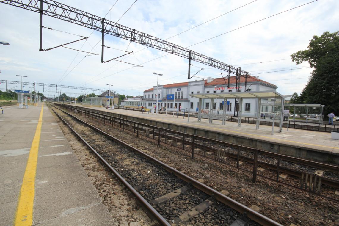 Stacja kolejowa w Ełku wkrótce zyska nowe oblicze