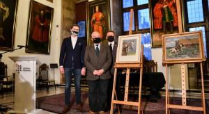 Dwa obrazy Wojciecha Kossaka trafiły do Muzeum Gdańska