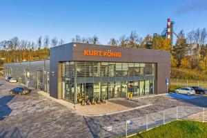 Nowy budynek biurowo-magazynowy w Gdańsku