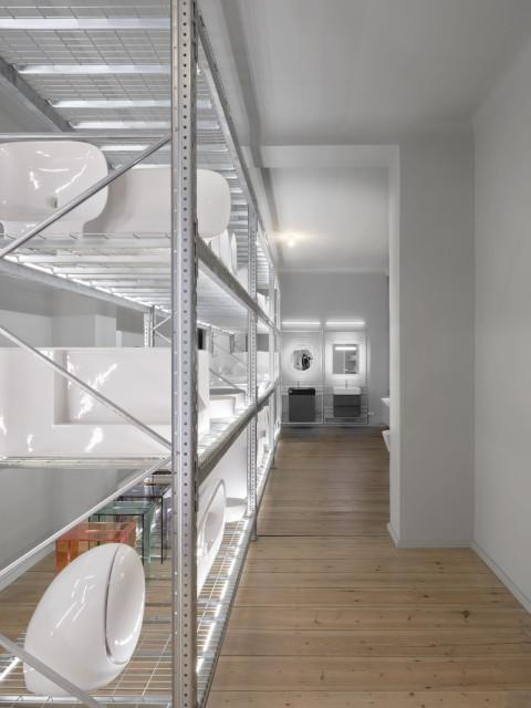 Unikalny koncept Laufen Space w Berlinie. To dzieło słynnego designera Konstantina Grcica