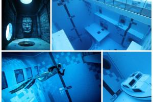 Najgłębszy basen na świecie powstał w Mszczonowie. Gębokość ponad 45 m i hotel z widokiem na nurków