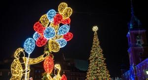 W Warszawie rozbłysły świąteczne iluminacje