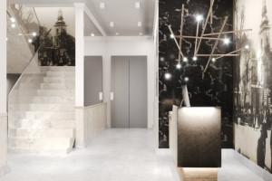 Ciekawy projekt elewacji apartamentów Sienkiewicza 44 w Grodzisku Mazowieckim