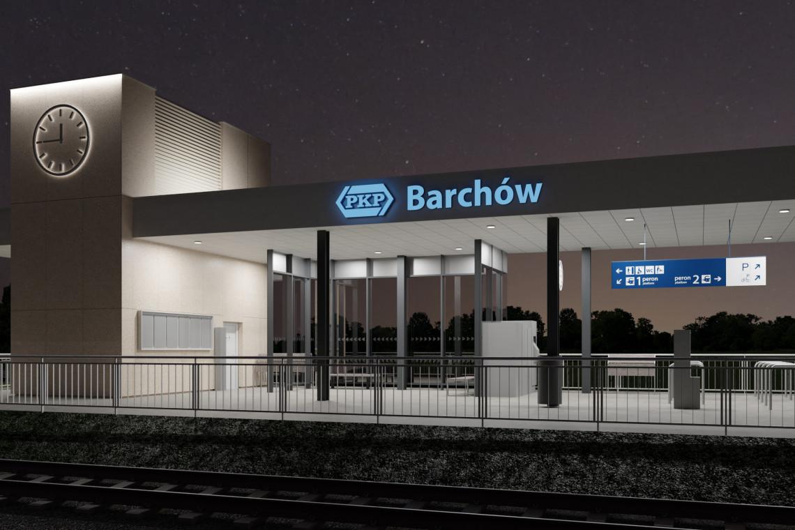 Na Rail Baltice powstaną nowe dworce kolejkowe. Pierwsze w Barchowie i Dobczynie