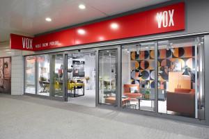 Salony z wyposażeniem wnętrz VOX z nowym konceptem. Zajrzyjcie do środka!