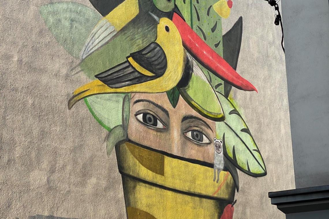 W Katowicach powstaje mural nawiązujący do Światowego Forum Miejskiego