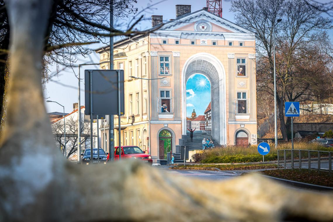 Wyjątkowy trójwymiarowy mural w Gorzowie Wielkopolskim