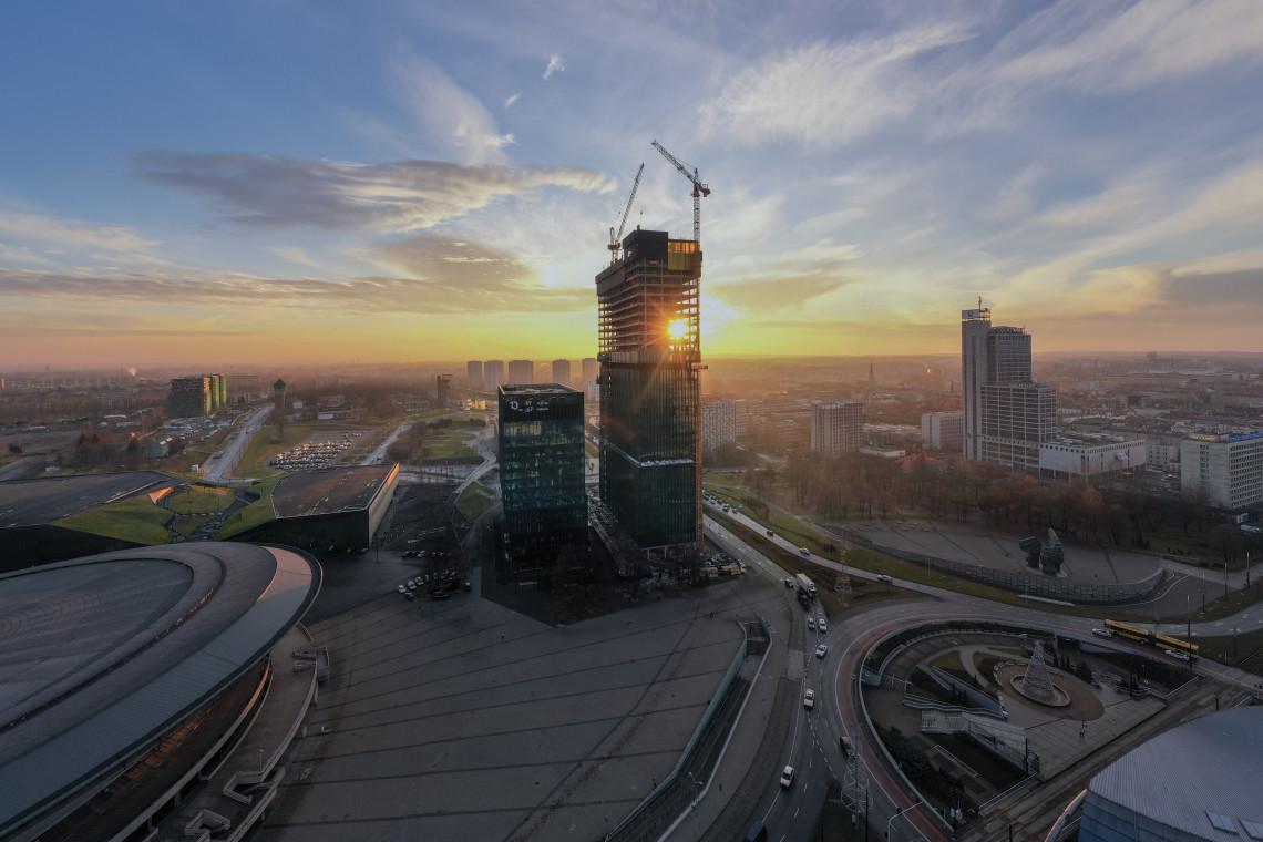 Budynek KTW I pierwszy w Polsce z certyfikatem WELL Health-Safety Rating