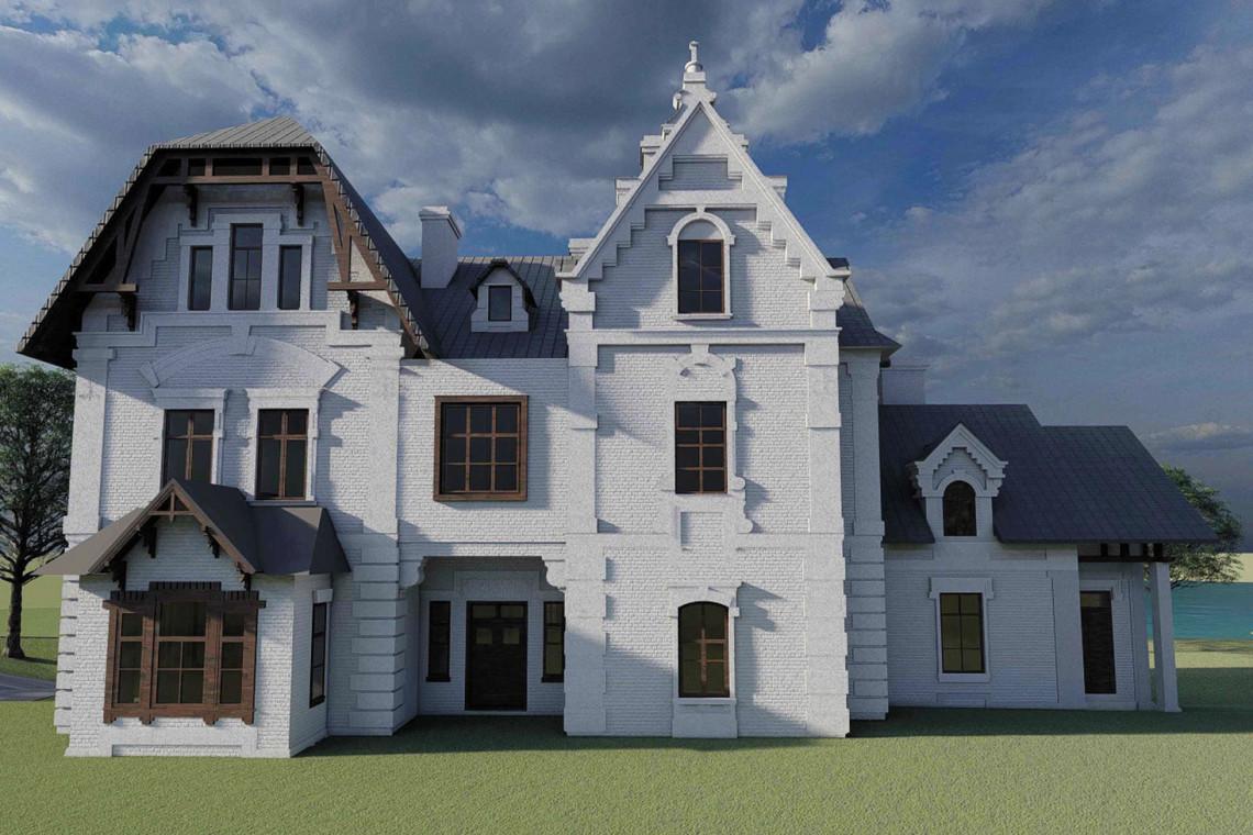 Studentki przygotowały projekt architektoniczno-konserwatorski XIX-wiecznej willi Potockich