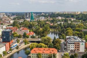 Biurowce w remoncie. Trwają intensywne prace w Bydgoszczy