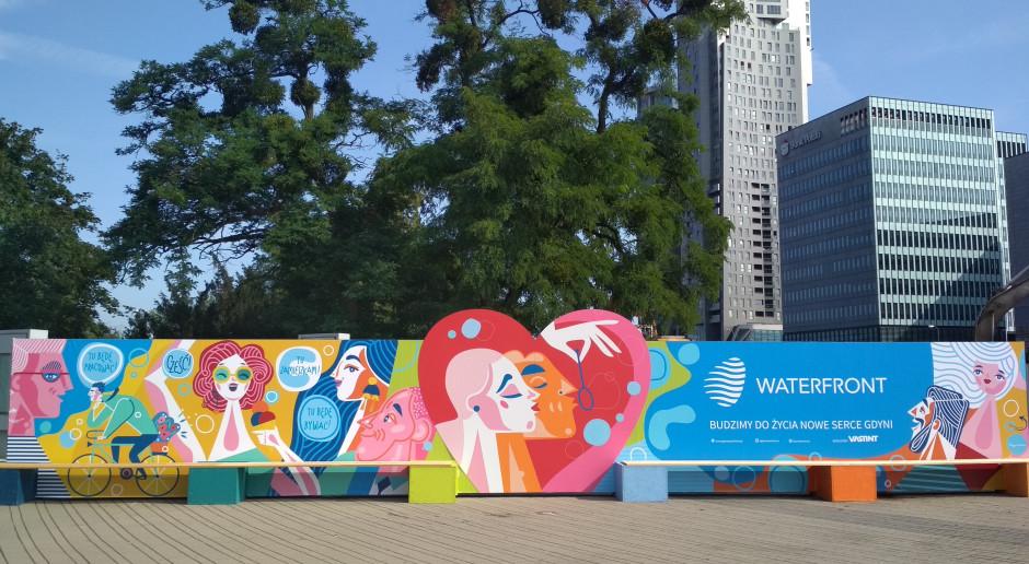 Sztuka na placu budowy