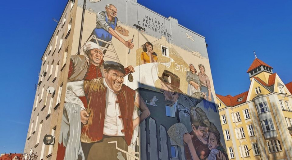 We Wrocławiu powstał mural dedykowany słynnemu reżyserowi
