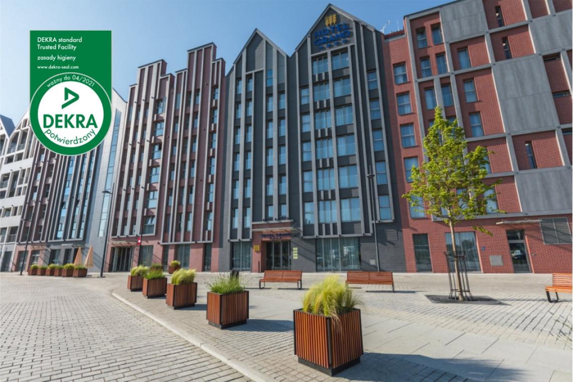 Hotele Grano jako pierwsze w Polsce z certyfikatem Dekra