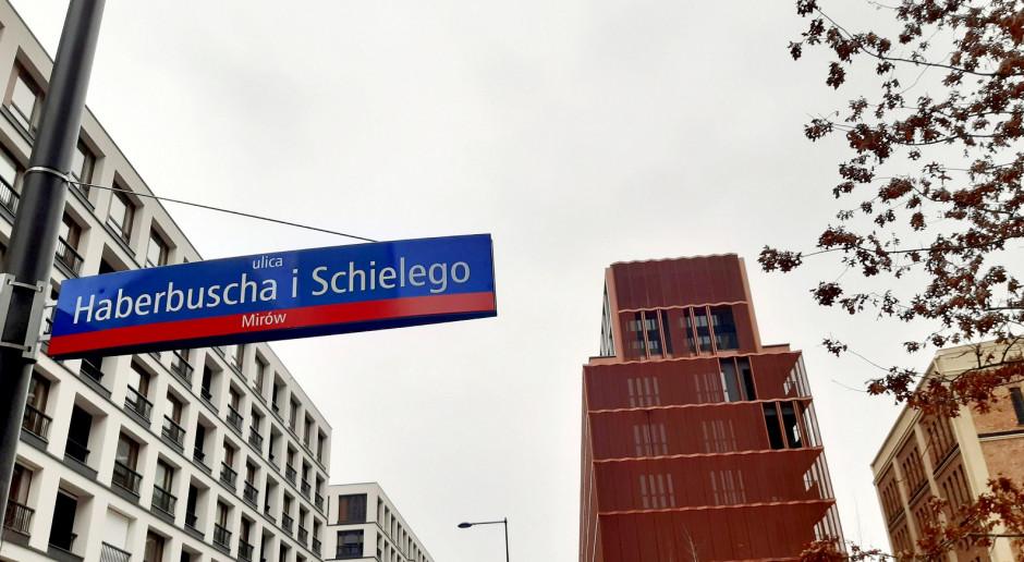 Haberbusch i Schiele w oficjalnym katalogu ulic m.st. Warszawy