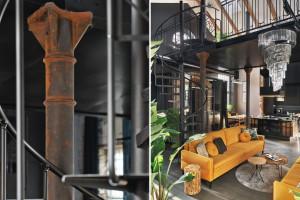 Niezwykła metamorfoza starej kuźni w fabryce Pomp w Lesznie: loft spod kreski Sikora Wnętrza
