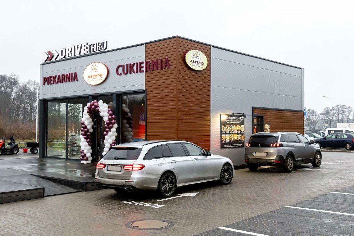 W Szczecinie powstała piekarnia i cukiernia drive-thru