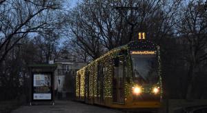 Świąteczna Bimba na ulicach Poznania