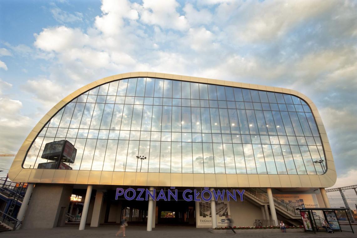 PKP przebuduje dworzec Poznań Główny