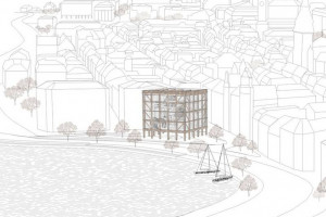 Niezwykły budynek z drewna doceniony w międzynarodowym konkursie. To projekt studentki PWr