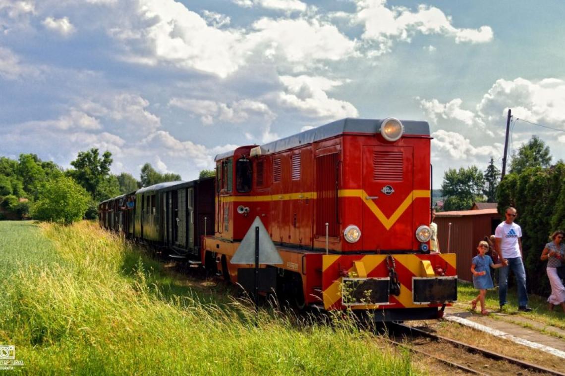 Trasa Górnośląskiej Kolei Wąskotorowej już po remoncie