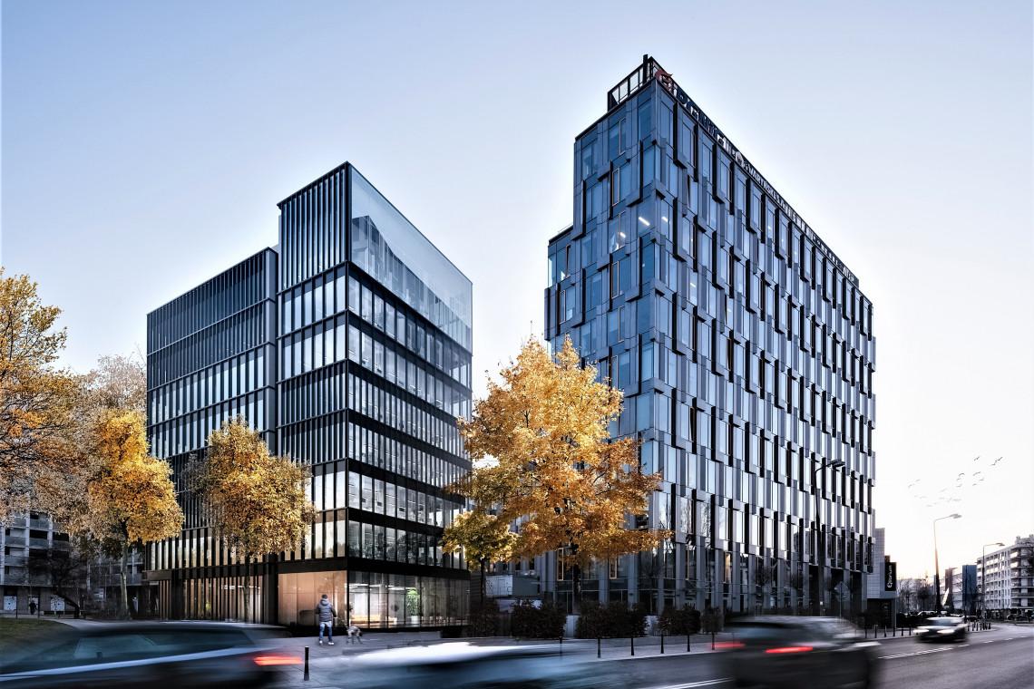 Butikowy biurowiec spod kreski Open Architekci już na ostatniej prostej