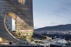 Nowy projekt spod kreski Zaha Hadid Architects pełny jest ekologicznych rozwiązań