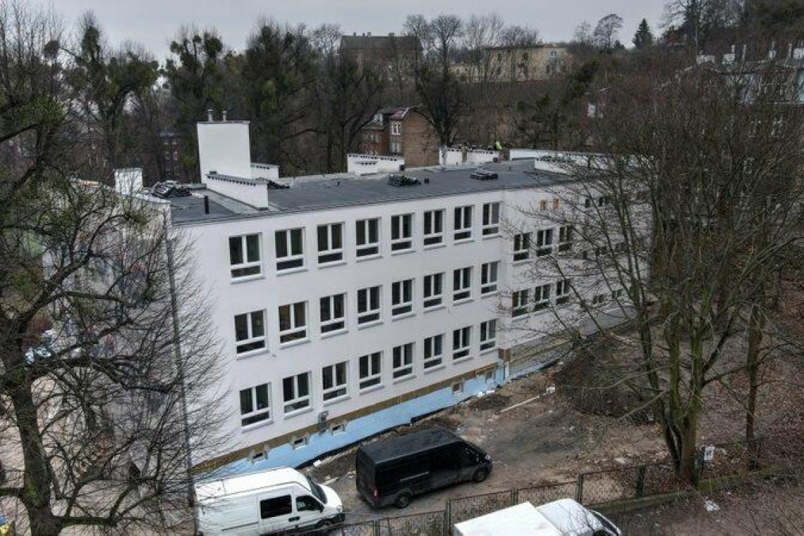 Szkoła w Gdańsku przechodzi termomodernizację