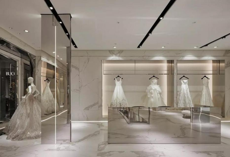 Luksusowy salon sukien ślubnych w Szanghaju