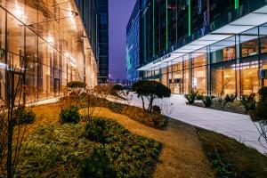 Mieszkańcy Gdańska mają nową zieloną przestrzeń. W Olivia Business Centre powstał ogród kieszonkowy