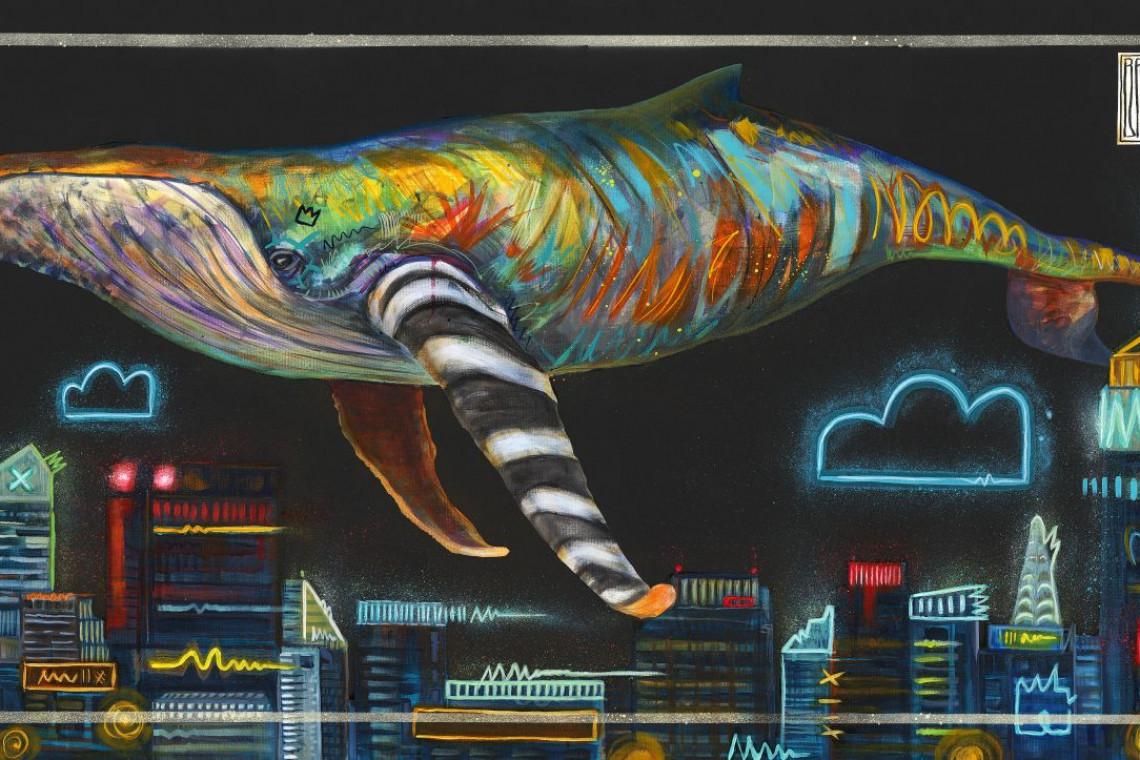 Zaskakujące połączenie sztuki i technologii. Telewizor na Aukcji Nowej Sztuki