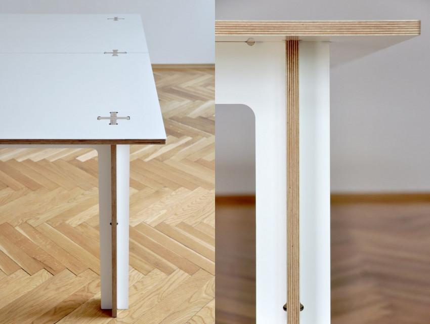 """Postanowiłam zaprojektować stół, który spełni wszystkie moje oczekiwania - Katarzyna Dobiecka, laureatka konkursu """"Linoleum od nowa"""""""