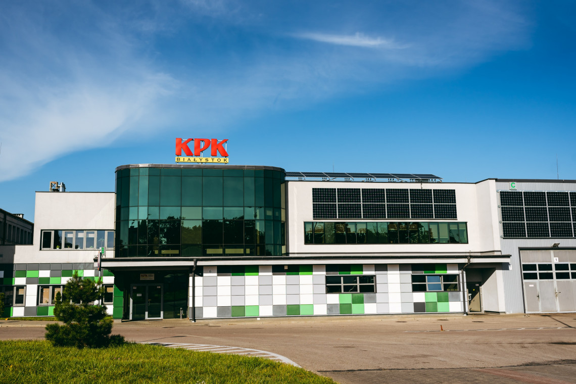 KPK w Białymstoku z zieloną energią