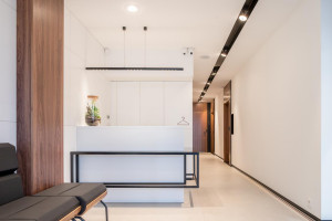 Nowoczesne wnętrza gabinetów lekarskich