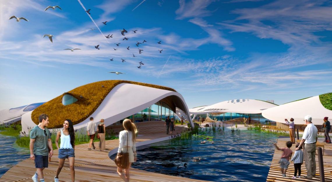 Symbioza architektury i natury. Zobacz wizję budynków przyszłości spod kreski 3deluxe