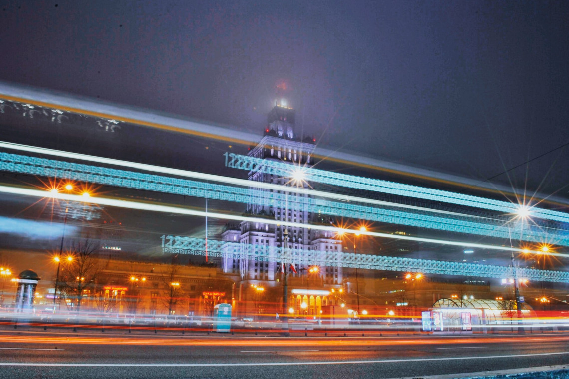 Warszawa rusza z programem modernizacji oświetlenia w mieście
