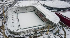 Zaglądamy na plac budowy stadionu ŁKS w Łodzi