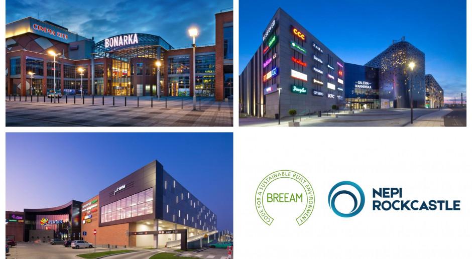 Kolejne centra handlowe z ekologicznym certyfikatem