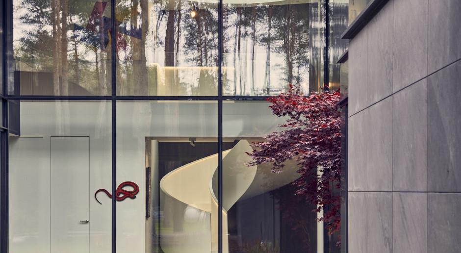 Wnętrza inspirowane lasem i... galerią sztuki