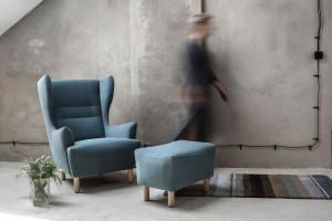 Fotel inspirowany stylistyką lat 50. i 60. Świetna kolekcja znanych polskich designerów!