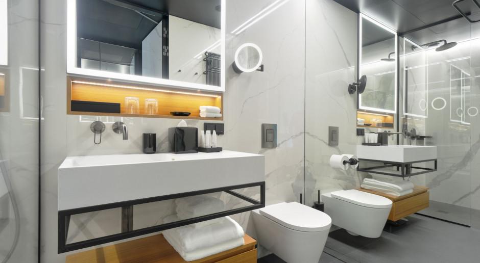 Nobu Hotel Warsaw z szytymi na miarę rozwiązaniami marki Laufen