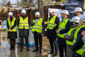 Aquapark na Brochowie: kapsuła czasu wmurowana w fundamenty