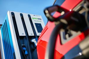 Ładowarki do samochodów elektrycznych w Auchan Krasne koło Rzeszowa