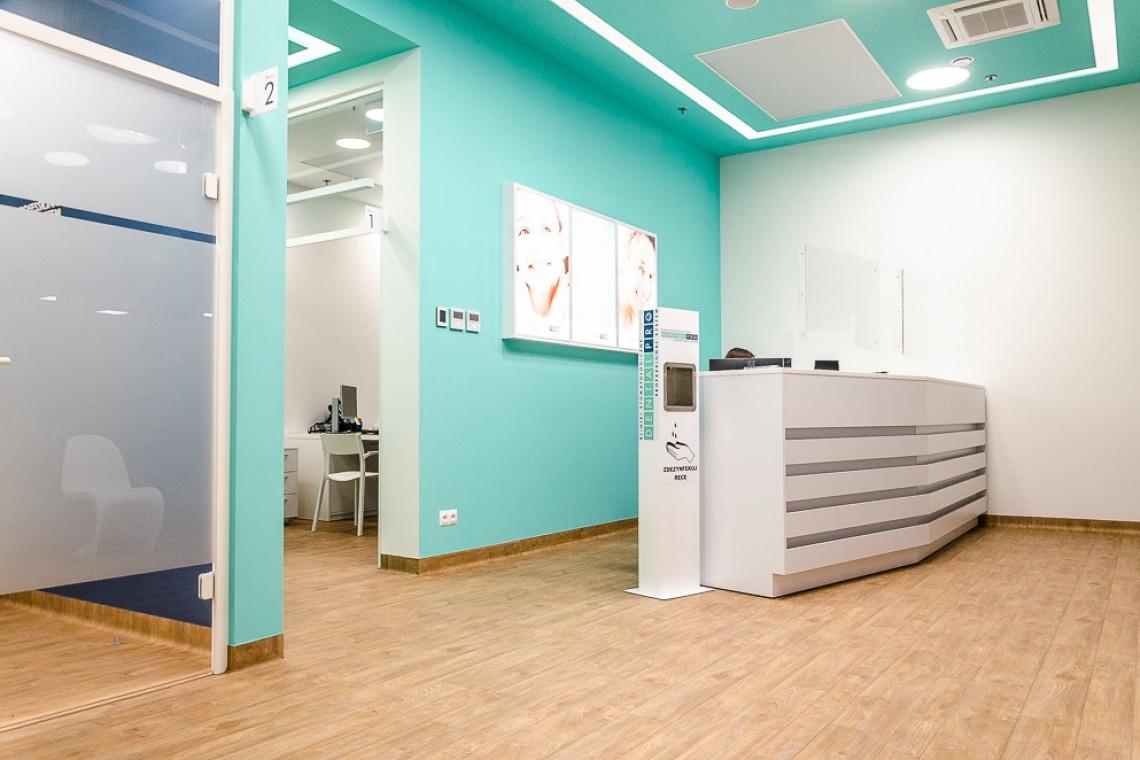 Klinika DentalPro w łódzkiej Manufakturze To pierwsza placówka włoskiej sieci w Polsce