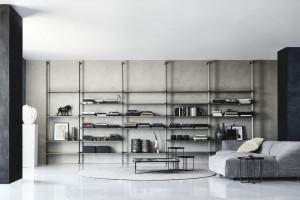 Modułowy regał ze stali: nowość włoskiego producenta
