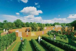 Sensoryczne przedszkole z uprawami na dachu