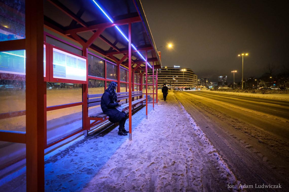 Nowe wiaty przystankowe w Białymstoku