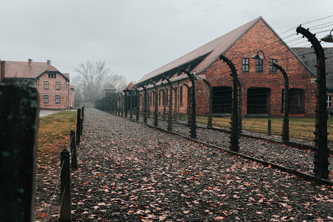Muzeum Auschwitz z pracami konserwatorskimi