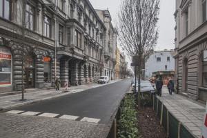 Trwają prace rewitalizacyjne w Łodzi. Kolejne ulice z zielenią