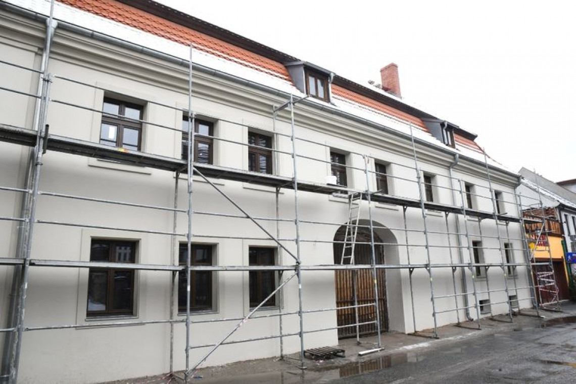 Zabytki w Bydgoszczy: trwają prace przy zabudowaniach na ul. Pod Blankami